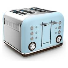Morphy Richards Accents 4 Slice Toaster - Azure