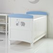 more details on Obaby Hedgehog CotBed & Foam Mattress Blue (Argos Exclusive)