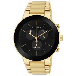 Citizen Eco-Drive Axiom Gold Coloured Chrono Men's Watch