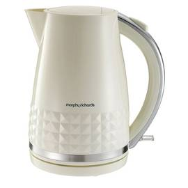 Morphy Richards Dimensions 108262 Jug Kettle - Cream