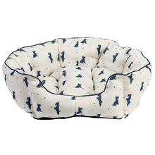 Alfie Oval Large Cream Pet Bed