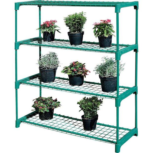 Buy 4 Shelf Tubular Greenhouse Staging