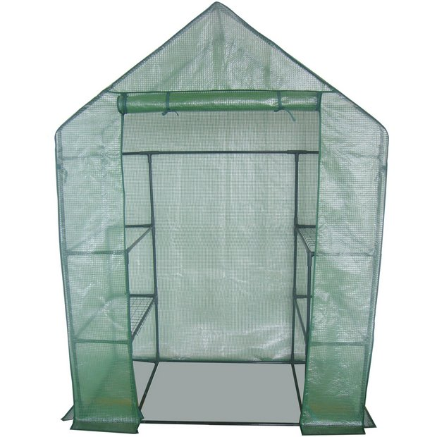 how to build a walk in greenhouse