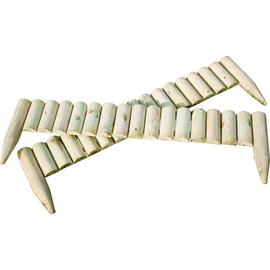 Fixed Log Edging Regular - Pack Of 2