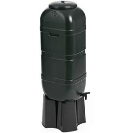 Strata Water Butt with Connection Kit, Tap and Stand - 100L