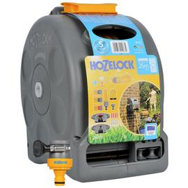 Hozelock Compact Enclosed 2 In 1 Hose Reel - 25m
