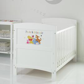 Disney Winnie the Pooh Cot Bed - Pooh & Friends
