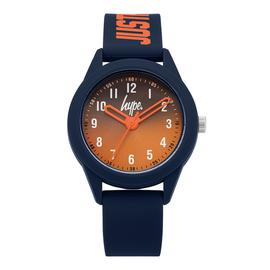 Hype Children's Navy Silicone Strap Watch