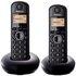 Panasonic KX-TGB212EB Cordless Telephone - Twin