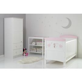 Disney Minnie Mouse 3 Piece Room Set - Hearts