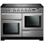 more details on Rangemaster Professional Deluxe 110cm Range Cooker - S/Steel
