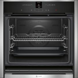 Neff B57CR22N0B Built In Single Electric Oven - S/Steel