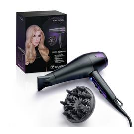 Glamoriser Black Edition Hair Dryer with Diffuser