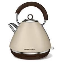 Morphy Richards Accents Pyramid Kettle - Sand