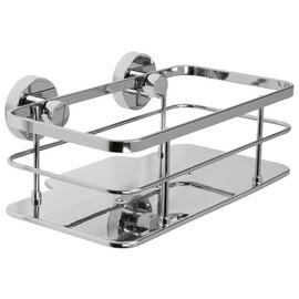 Croydex Charlwood Flexi Fit Cosmetic Basket - Chrome