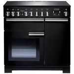 more details on Rangemaster Professional Deluxe 90cm Range Cooker - Black.