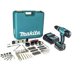 Makita LXT 18V 3Ah Cordless Combi Drill with 101 Accessories