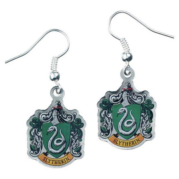 e12833f9e Buy Harry Potter Slytherin Cress Earrings | Womens earrings | Argos