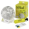 more details on Mitre Ooodles Scriball Colouring Football