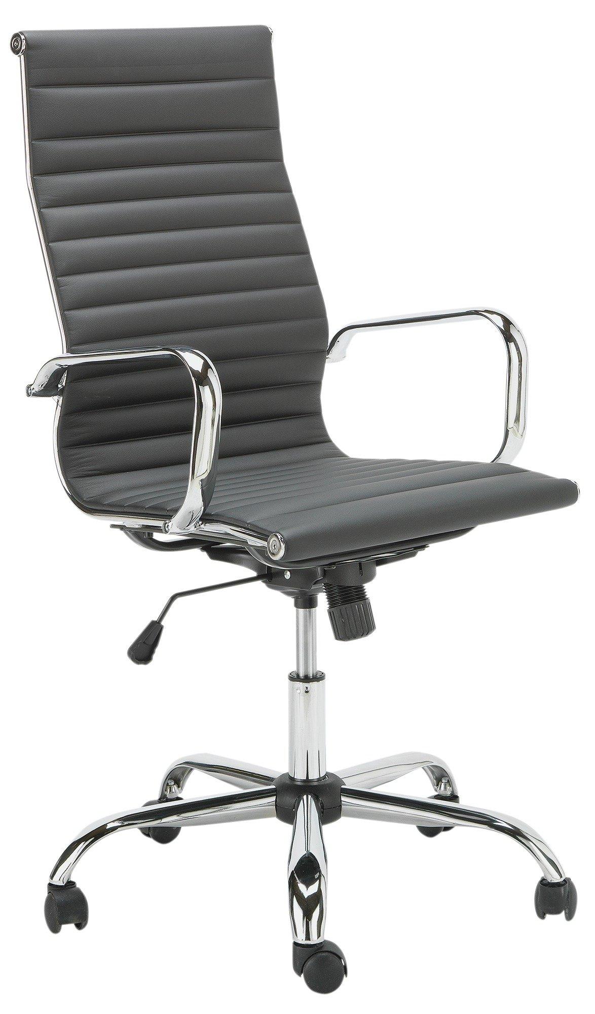Hygena Textured Back Chair   Black