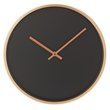 more details on Collection Harlow Metal Wall Clock - Copper & Black