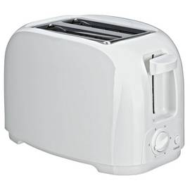 Simple Value 2 Slice Toaster - White