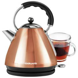 Cookworks Pyramid Kettle - Copper