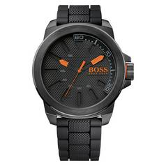 Hugo Boss Orange New York Men's Black Strap Watch