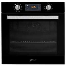 Indesit Aria IFW6340BL Built In Single Electric Oven - Black