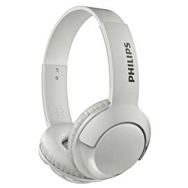 Philips SHB3075 Wireless On-Ear Headphones - White