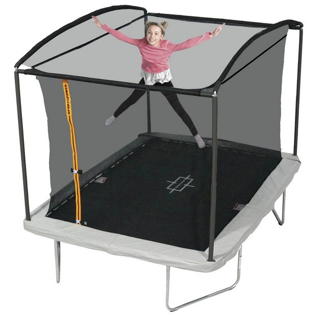 Buy Sportspower 10ft X 8ft Rectangular Trampoline With Enclosure