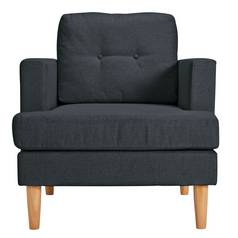 Argos Home Joshua Fabric Armchair - Charcoal