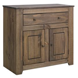 Argos Home Amersham Small Solid Wood Sideboard - Dark Pine