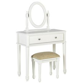 Argos Home Ashbourne Dressing Table - Soft White