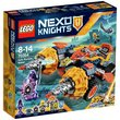 more details on LEGO Nexo Axl's Rumble Maker - 70354