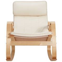 Argos Home Fabric Rocking Chair - Natural