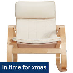 Argos Home Rocking Chair - Natural