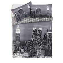 HOME New York Skyline Bedding Set - Double