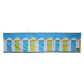 Olpro Beach Huts 4 Steel Pole Windbreak