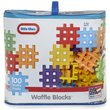 more details on Little Tikes Waffle Blocks Bag - 100 Piece