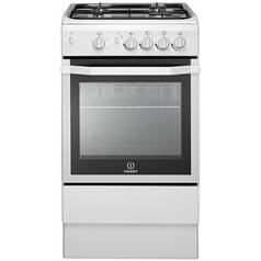 Indesit I5GGW Single Gas Cooker - White