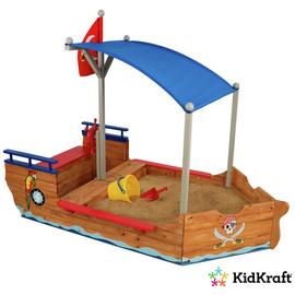 KidKraft Pirate Sandboat Sandbox