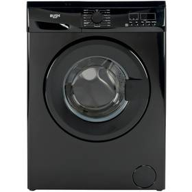 Bush WMDF814B 8KG 1400 Spin Washing Machine - Black