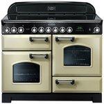 more details on Rangemaster Classic 110cm Ceramic Range Cooker - Cream.