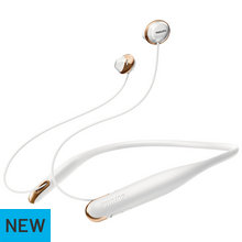 Philips Hyprlite Wireless In-Ear Headphones - White/Gold
