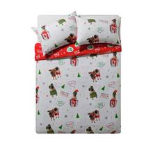 HOME Merry Pugmas Bedding Set - Double
