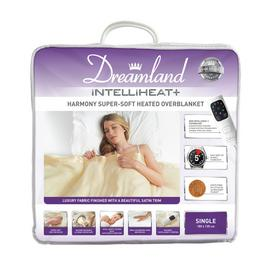 Dreamland Harmony Intelliheat Super-Soft Overblanket -Single