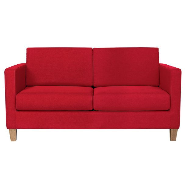 Buy Argos Home Rosie 2 Seater Fabric Sofa Bed - Red | Sofa beds ...