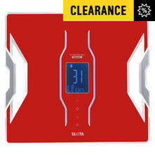 Tanita Smart Scale with Body Composition - Red