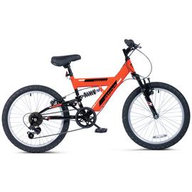 Piranha 20 Inch Atom Dual Suspension Junior Bike
